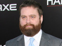 "Zach Galifianakis claims that he finds filming sex scenes ""embarrassing""."