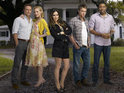 Jaime King reveals details of the love triangle on her show Hart of Dixie.