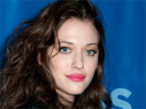 Kat Dennings at the 2011 CBS Upfronts held at the Lincoln Center in New York City