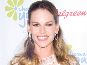 Hilary Swank at The American Cancer Society preview of 'Choose You'