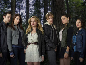 The cast of 'The Secret Circle'