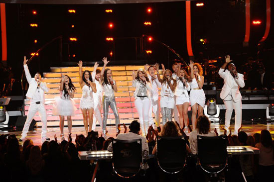 The top 12 perform