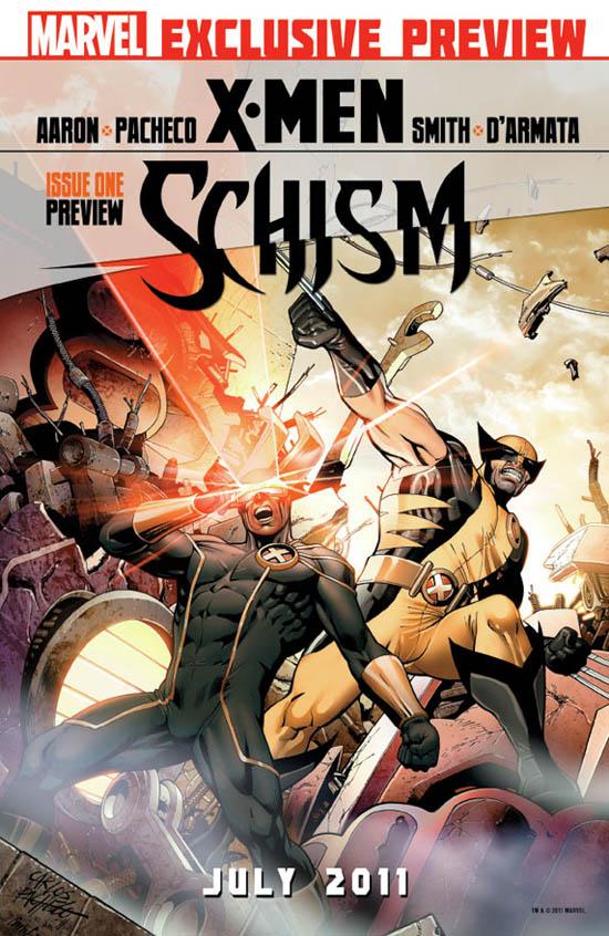 X-Men Schism Preview