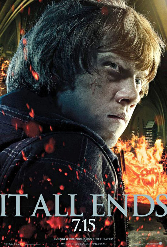 'Deathly Hallows' Ron Weasley poster debuts - Movies Blog ...