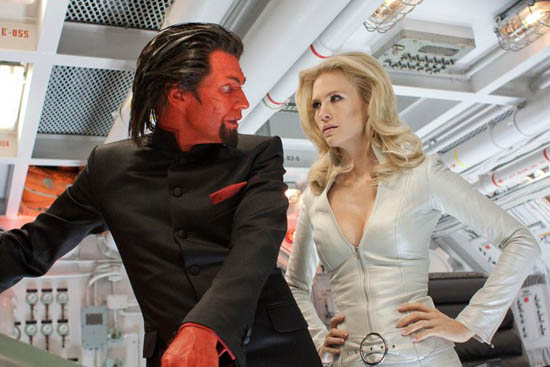 Azazel and Emma Frost