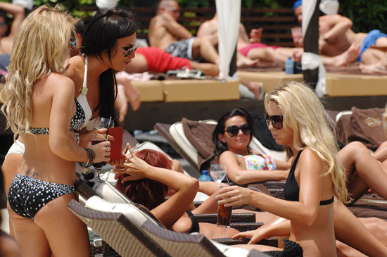 The Only Way is Essex Cast on Holiday
