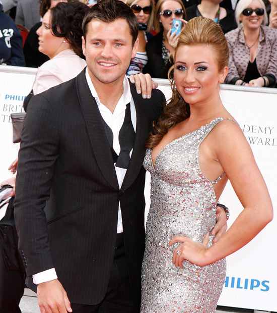Mark and Lauren from The Only Way Is Essex at the BAFTAs