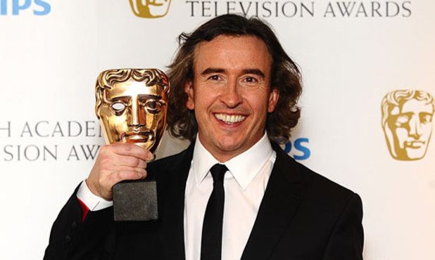 BAFTAs 2011: Steve Coogan wins the Male in Comedy award