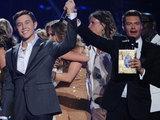 Scotty McCreery is announced the winner of American Idol