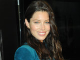 Jessica Biel launches Revlon's new Grow Luscious Plumping Mascara in New York