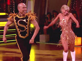 Hines Ward in the 'Dancing With The Stars' final