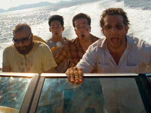 Zack Galifianakis, Mason Lee, Ed Helms and Bradley Cooper in &#39;The Hangover: Part II&#39;