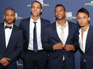 JLS attend a special screening of Eyes Wide Open at the Soho Hotel