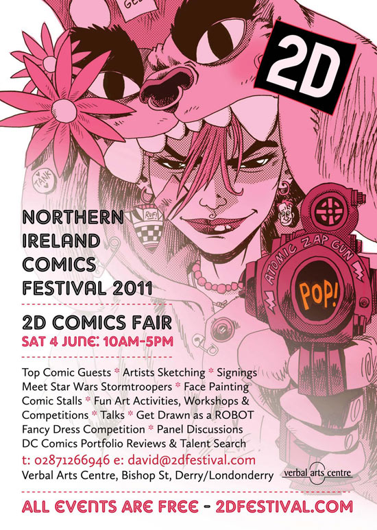 Northern Ireland 2D Comics Festival