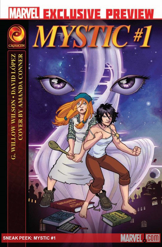 Mystic issue 1 cover
