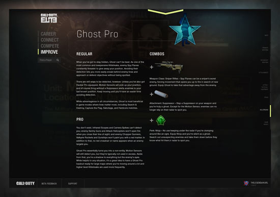 Call of Duty Elite: Ghost Pro