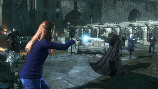 Harry Potter and the Deathly Hallows Part 2, The Videogame: Ginny