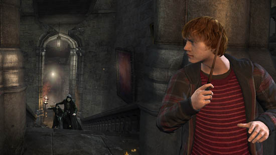 Harry Potter and the Deathly Hallows Part 2, The Videogame: Ron