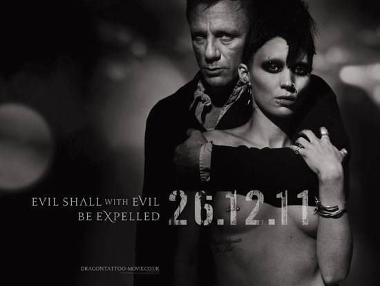 'Girl With the Dragon Tattoo' poster