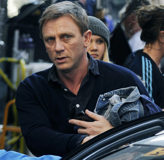 Daniel Craig as journalist Mikael Blomkvist