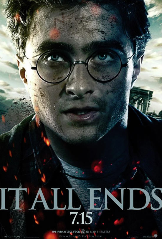 Harry potter and the deathly hallows part 2 character posters