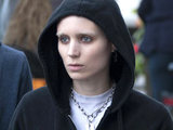 Rooney Mara filming the role of Lisbeth Salander in The Girl With the Dragon Tattoo