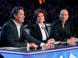 Piers Morgan, Sharon Osbourne and Howie Mandel on 'America's Got Talent'