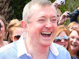 Louis Walsh at The X Factor Birmingham auditions