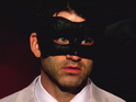 The Bachelorette's masked man Jeff Medolla talks about his quest to woo Ashley Hebert.