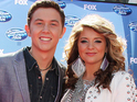 American Idol's runner-up says that loyal country fans helped her and Scotty McCreery succeed.
