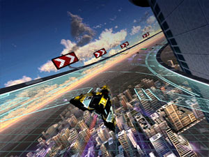 Wipeout 2048 Sony NGP