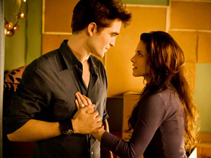 Edward and Bella from 'The Twilight Saga: Breaking Dawn'