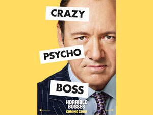Kevin Spacey portrays Dave Harken in Horrible Bosses