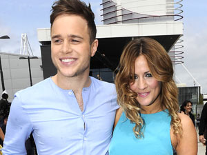 Olly Murs and Caroline Flack at The X Factor Birmingham auditions