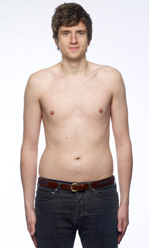 Greg James in Men's Heath
