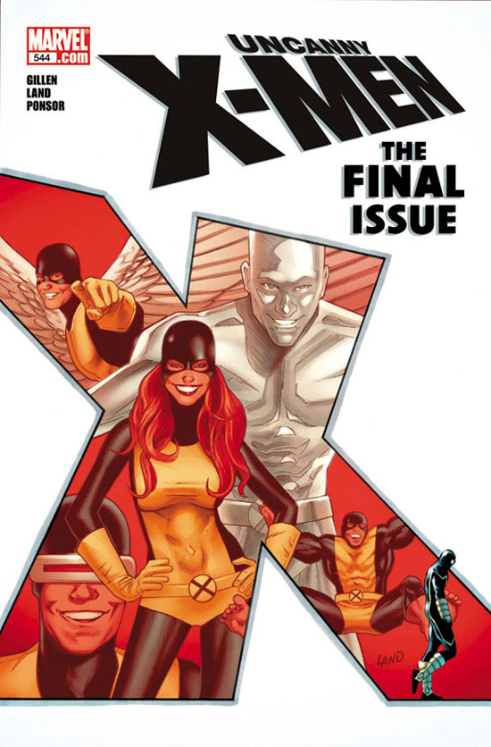 &#39;Uncanny X-Men - The Final Issue&#39; cover