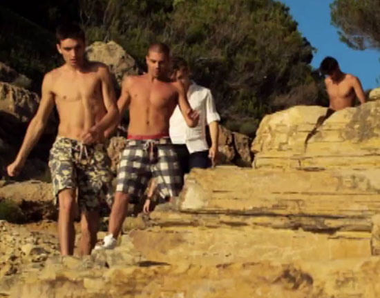 The Wanted - 'Glad You Came' video still