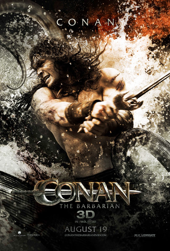 Conan The Barbarian character posters