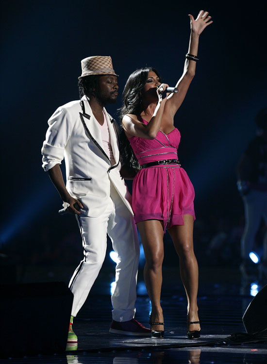 Nicole and Will.I.Am
