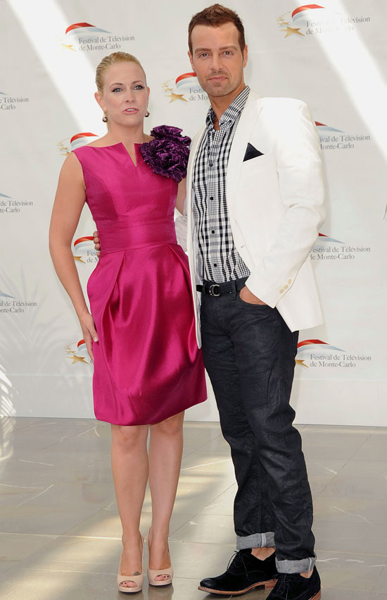 Melissa Joan Hart and Joey Lawrence