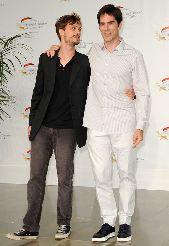 Thomas Gibson and Matthew Gray Gubler