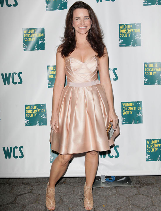 Kristin Davis at The Annual Wildlife Conservation Society Spring Gala