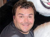 Jack Black at the London premiere of 'Kung Fu Panda 2'