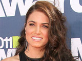 Twilight actress Nikki Reed arrives at the 2011 MTV Movie Awards, Los Angeles