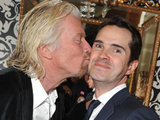 Sir Richard Branson and Jimmy Carr at The Roof Gardens 30th birthday