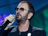 Ringo Starr performing in Moscow, Russia