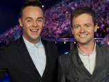 Ant and Dec at the filming of the first episode of Red or Black.
