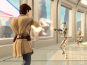 You aren't just the controller anymore, with Kinect Star Wars you are the Jedi.