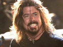 Guitarist Dave Grohl says the band recorded their latest album in a garage.