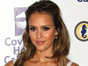"Jessica Alba says that her daughter Honor Marie wants her sibling to be ""out"" out of her mom's tummy."